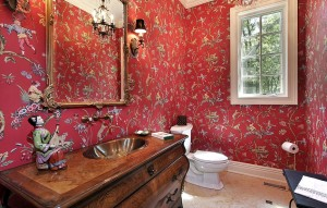 45 Luxurious Powder Room Decorating Ideas