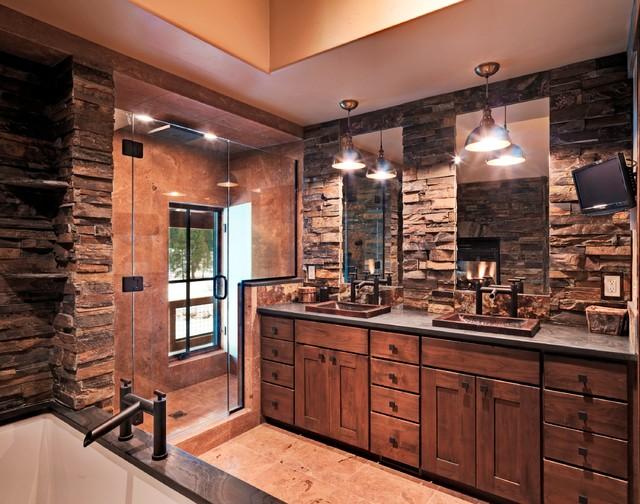 Rustic Bathroom Design Idea