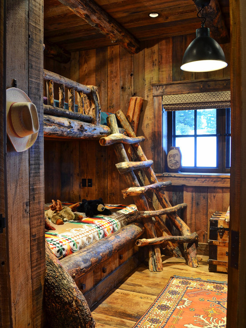 35 awesome rustic style kid s bedroom design ideas for Bedroom ideas rustic