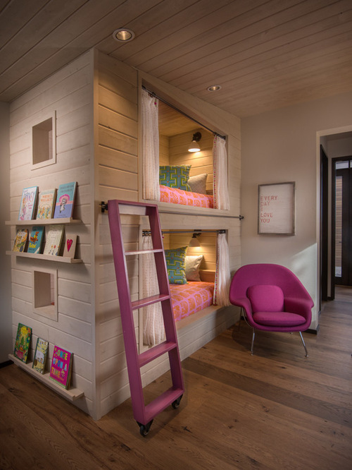Rustic Kids' Room Design Ideas
