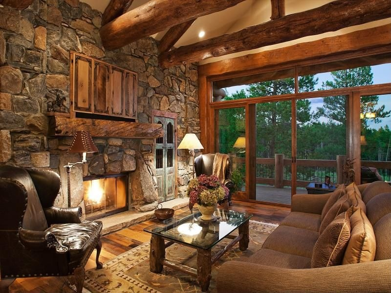Rustic Living Room Design Ideas & Pictures