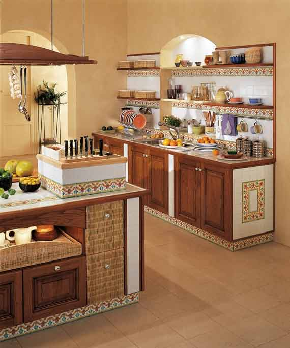 Mediterranean Style Kitchens: 23 Luxury Mediterranean Kitchen Design Ideas