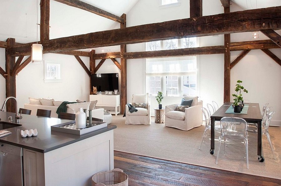 Smart-chic-rustic-living-room-in-white