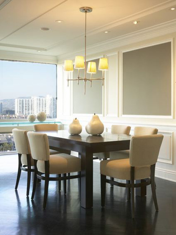 25 sleek and cool contemporary dining tables for Designer dining room suites