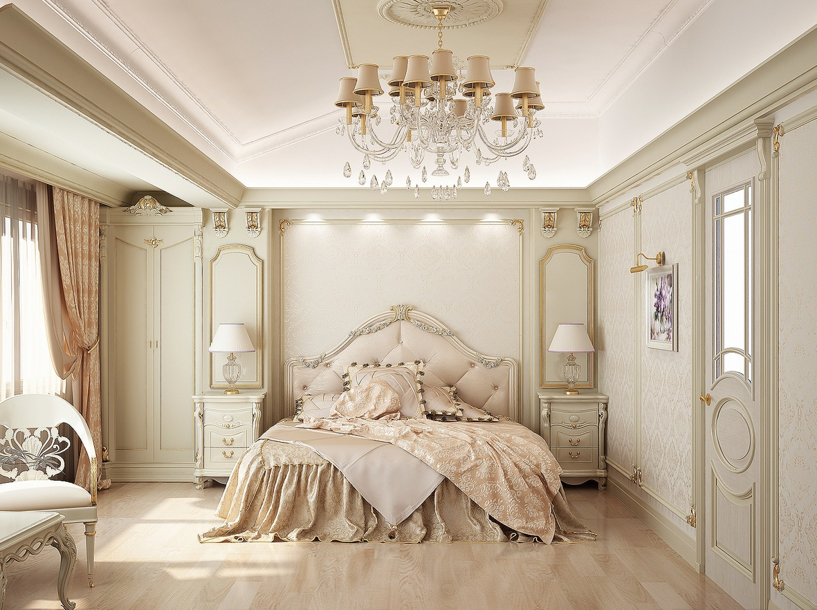 Traditional-Bedroom-with neutral design
