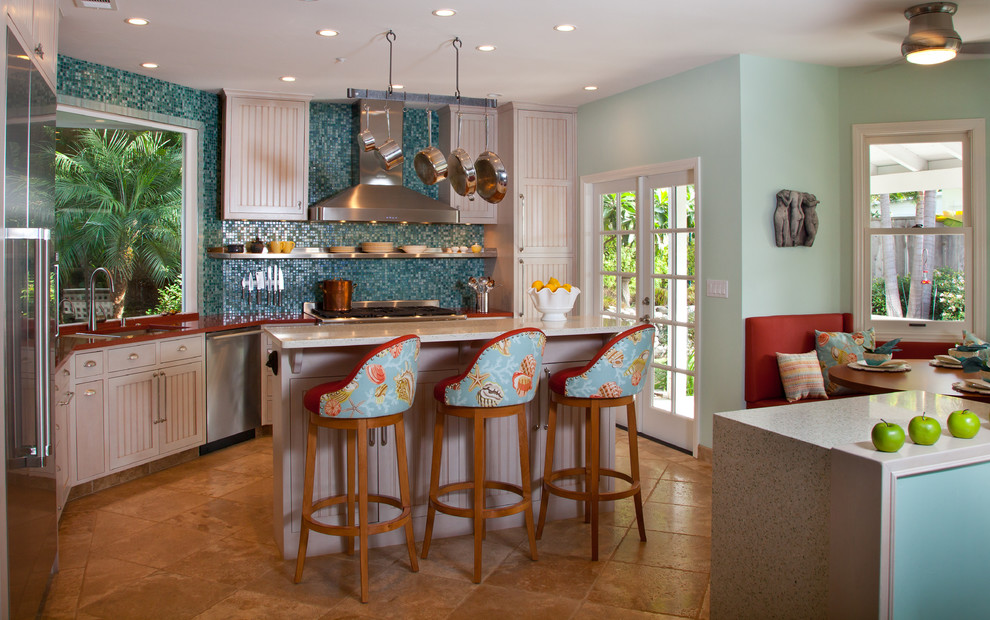 23 Fresh Tropical Kitchen Design Ideas