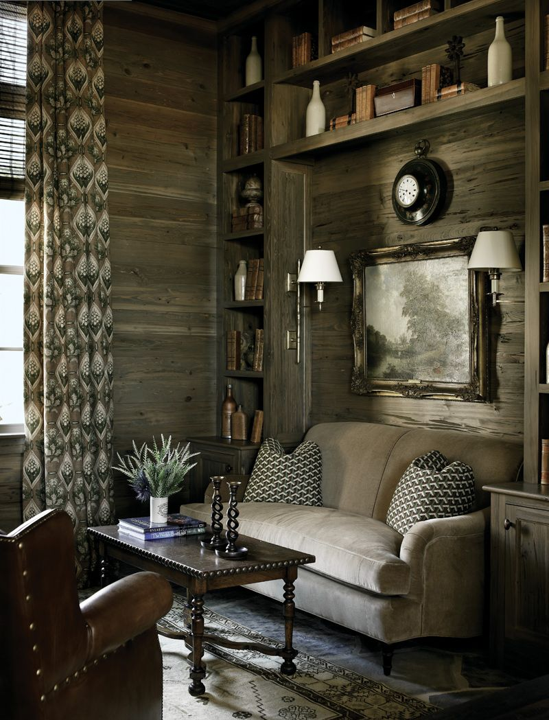 25 rustic living room design ideas for your home - Rustic chic living room ...
