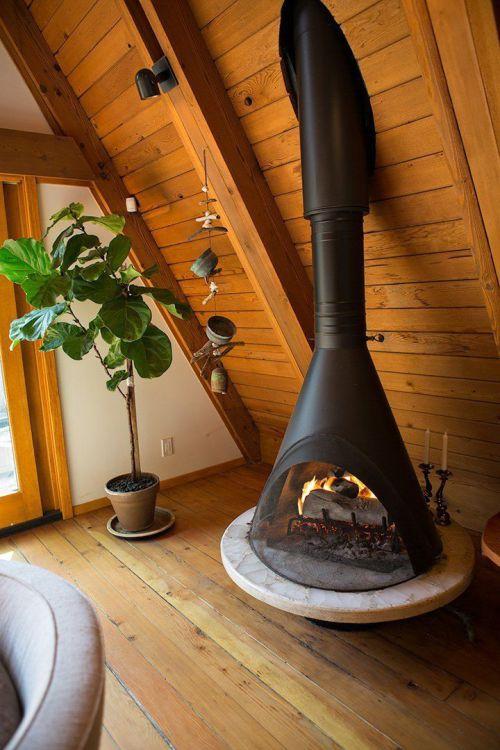 Vintage Fireplace Majestic Malm
