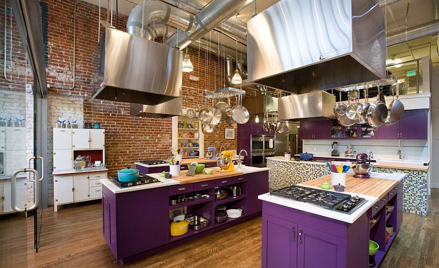 classy industrial kitchen