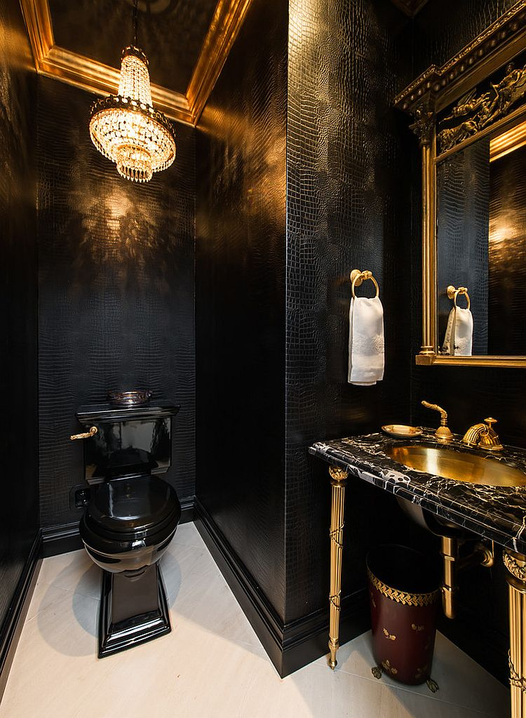 45 luxurious powder room decorating ideas for Ideas on room designs