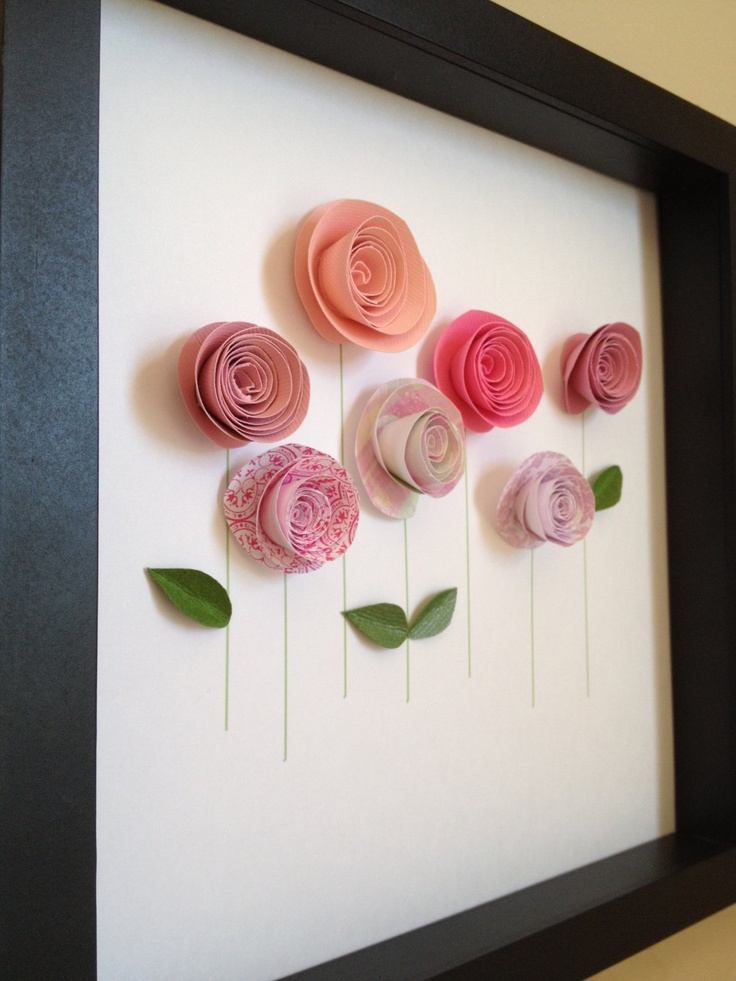 handmad Rolled Roses