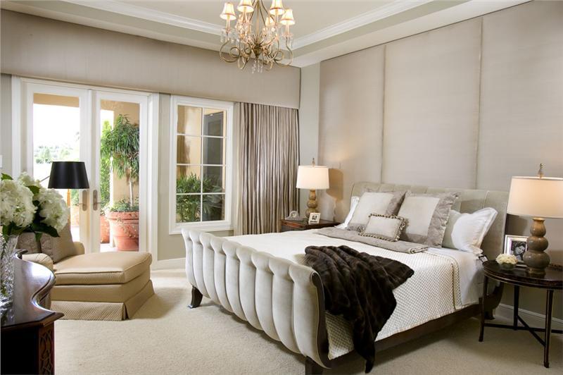 larger Elegant Transitional Bedroom
