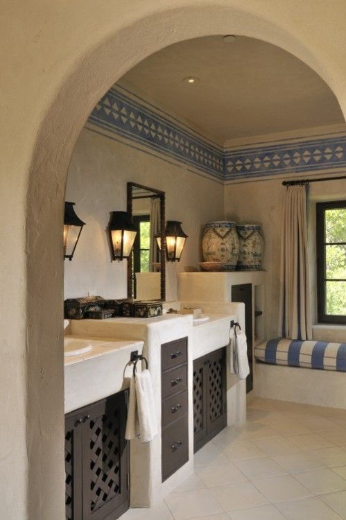 mediterranean bathroom decor ideas