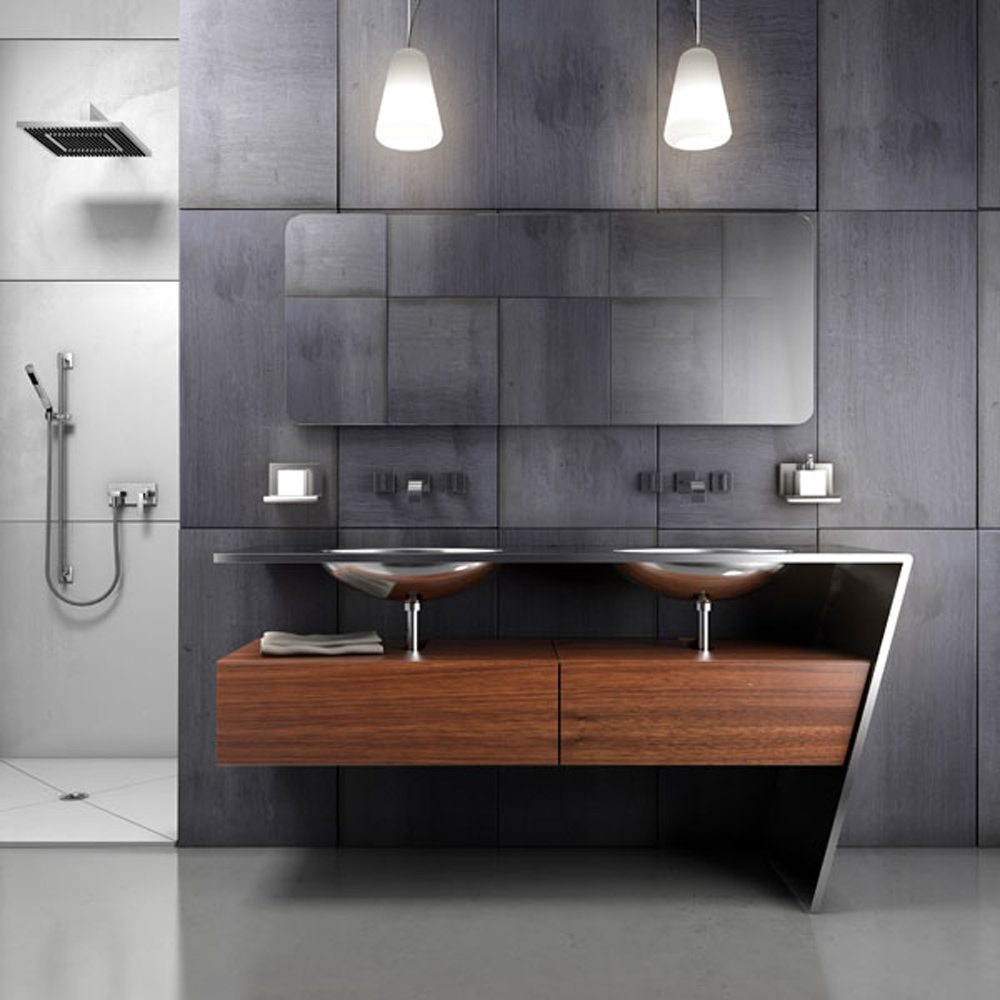 30 Classy And Pleasing Modern Bathroom Design Ideas Part 64