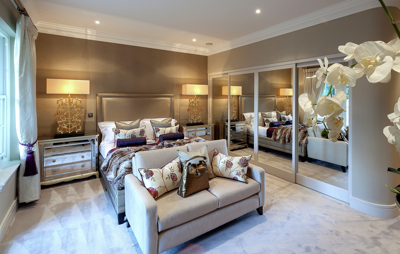 25 stunning luxury master bedroom designs for Luxury modern bedroom