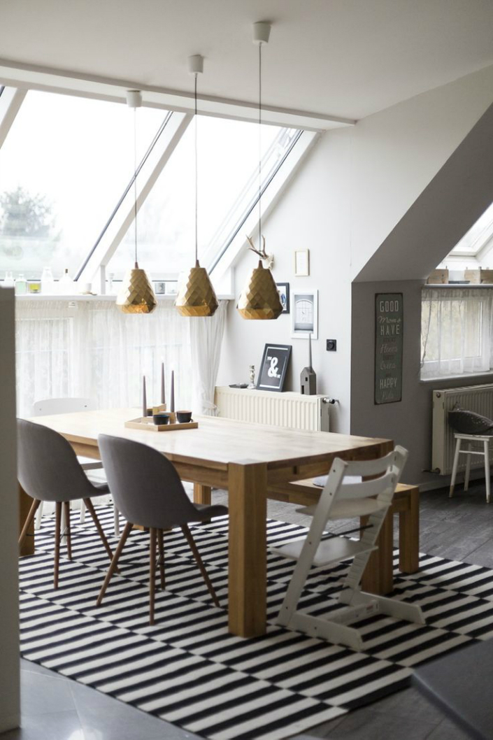 41 scandinavian inspired dining room design ideas for Dining room inspiration ideas