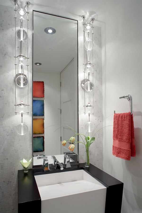Luxurious Powder Room Decorating Ideas - Powder bathroom ideas