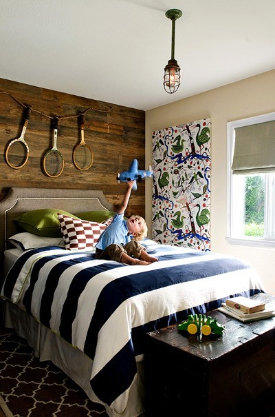 rustic boys bedroom