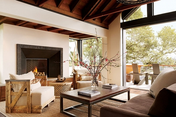 25 rustic living room design ideas for your home Rustic modern living room design