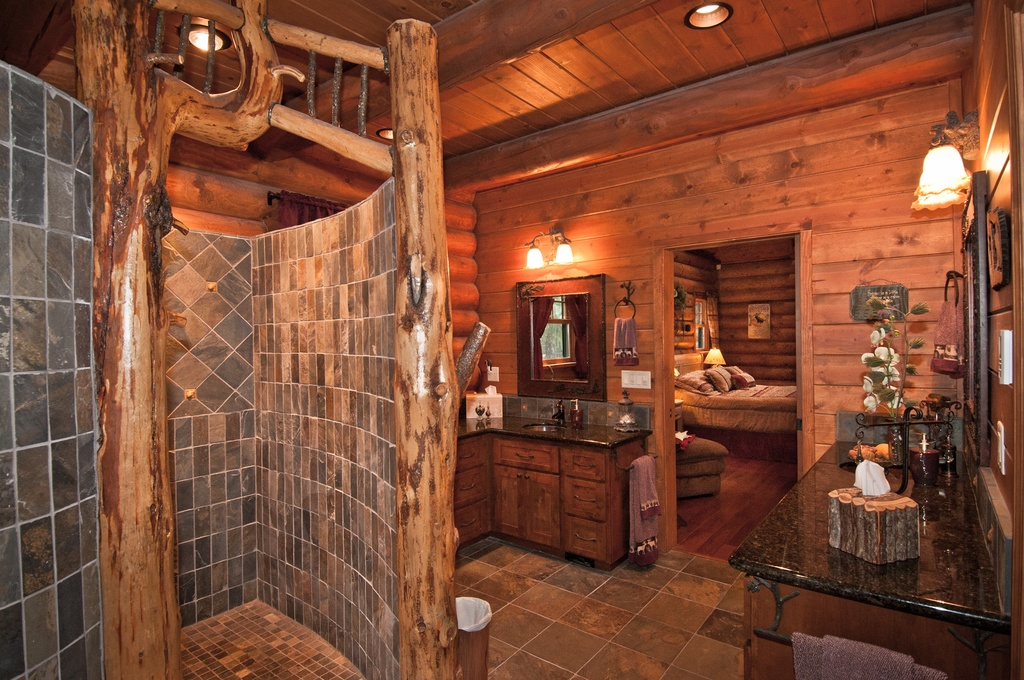 25 rustic bathroom decor ideas for urban world Rustic bathroom designs on a budget