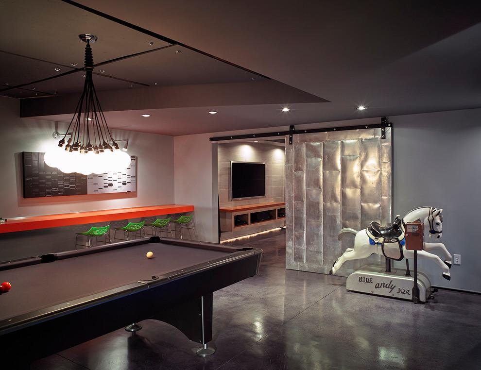 Amazing-Finished-Basements-decorating chandelier