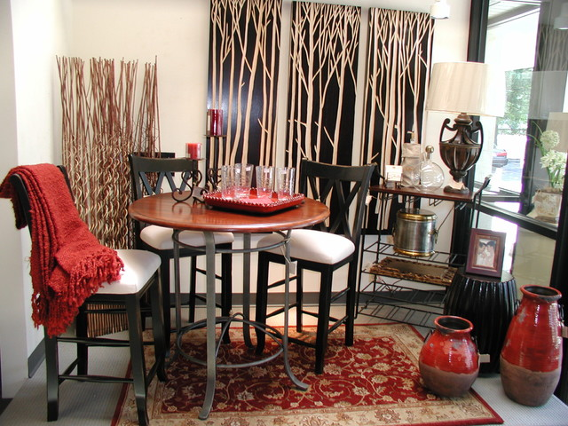 An Asian Style Dining Setting asian-dining-room