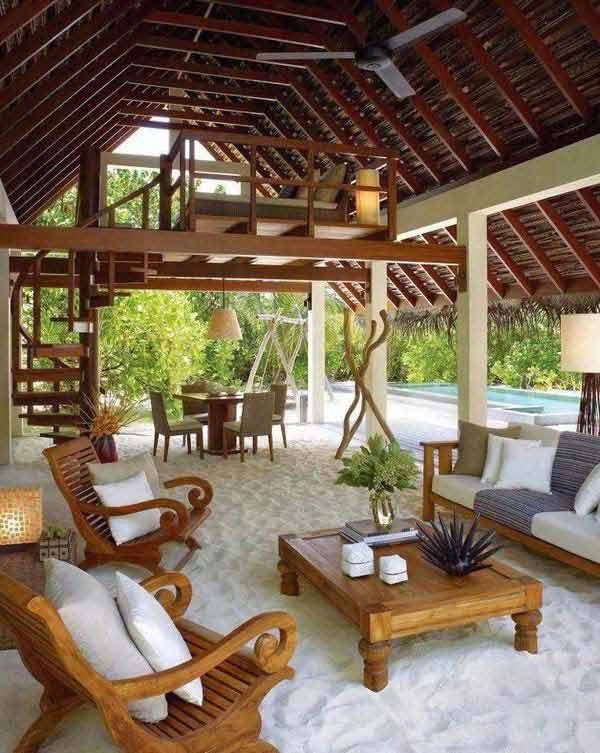Awesome Beach-Style Outdoor Living Ideas