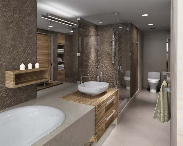 25 best ideas for creating a contemporary bathroom for Modern bathroom design ideas