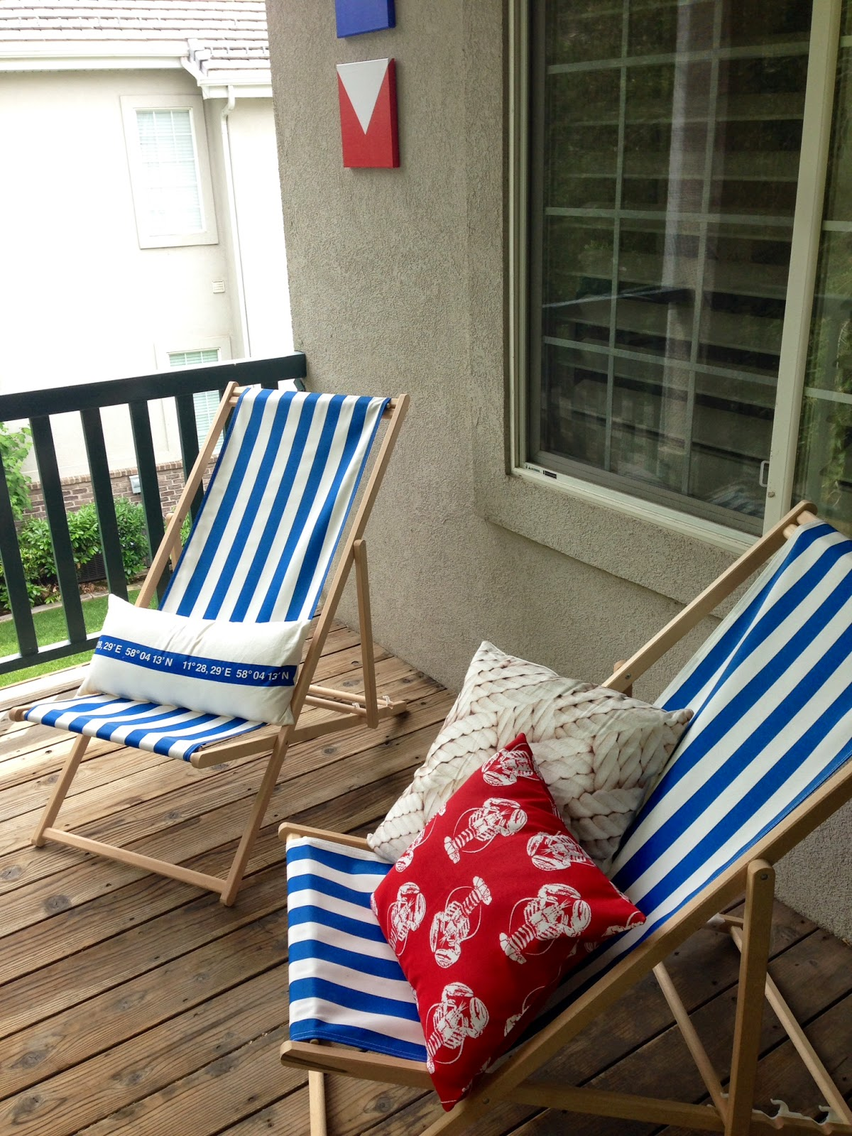 Beach Style Nautical Outdoor Decor
