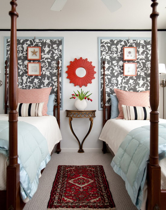 30 ideas for designing the perfect eclectic style bedroom for Contemporary guest bedroom ideas