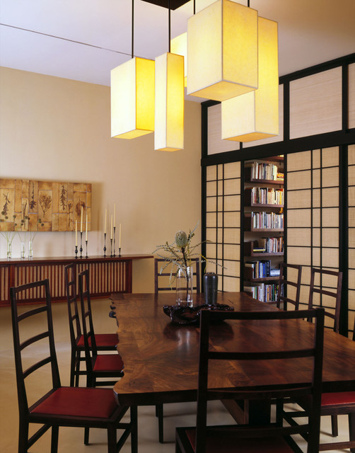 Ceiling in Dining Room Color Theme with Modern Style