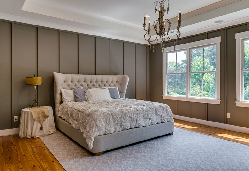 25 simple farmhouse bedroom design ideas - Spacious bedroom design ...