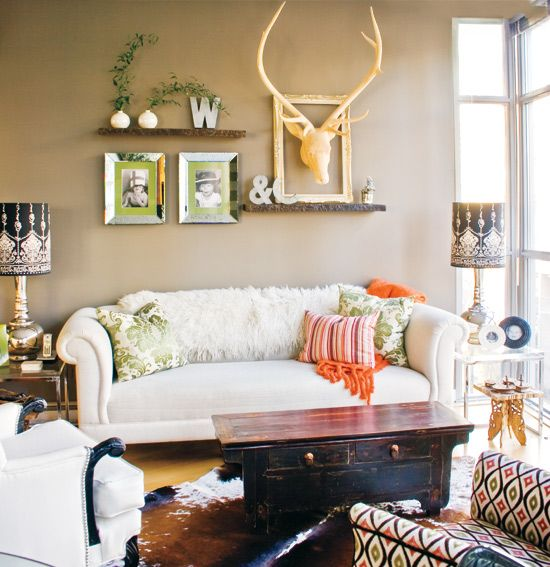 Condo appartment into a personal space with an eclectic vibe.