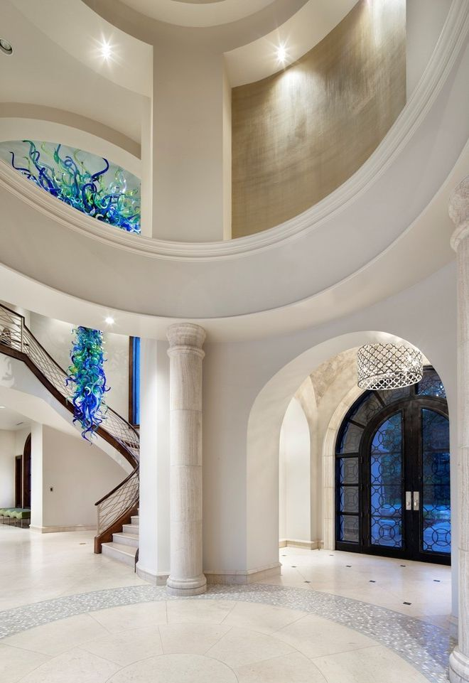 Contemporary Entry Hall