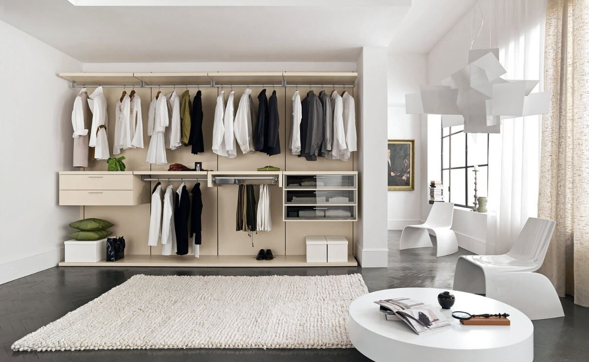25 best contemporary storage closets design ideas - Small closet space minimalist ...