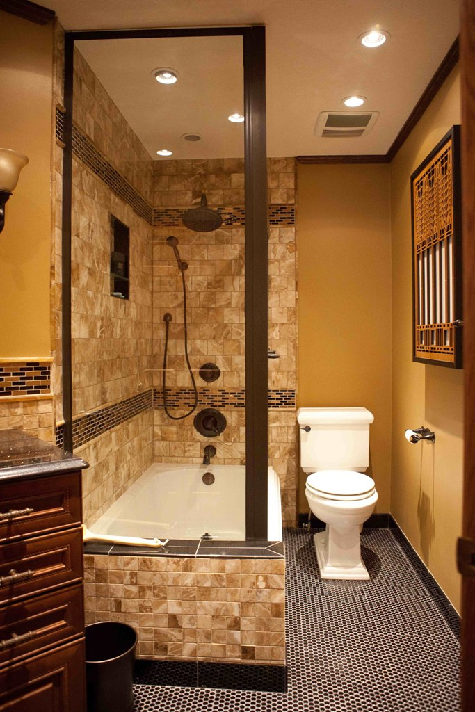 25 ideas to remodel your craftsman bathroom for Craftsman bathroom designs