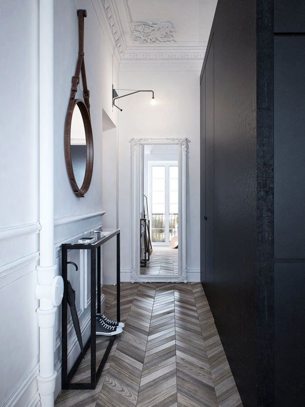 Entryway-with-Herringbone-Floor