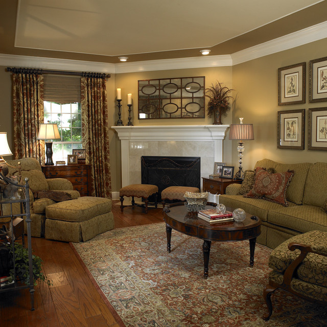 21 home decor ideas for your traditional living room Family room decorating ideas traditional