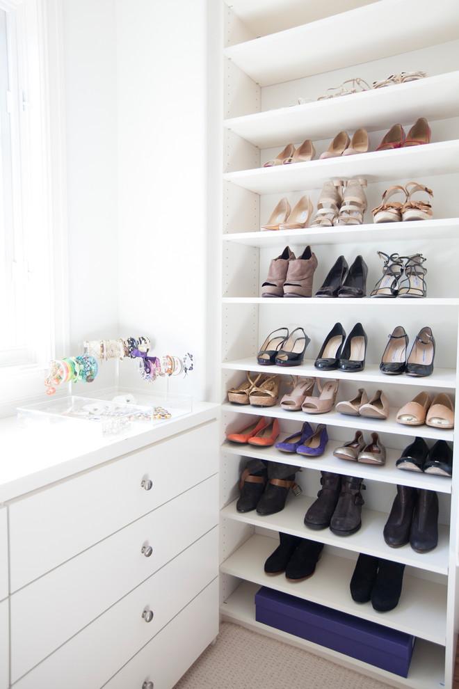 Gallery-in-Closet-Contemporary-design-ideas