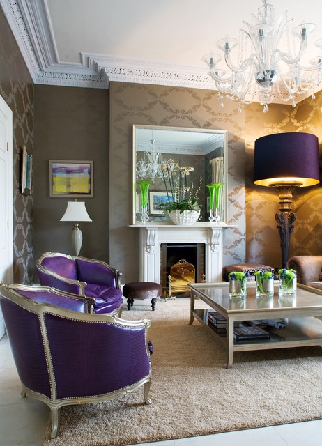 30 design ideas for your eclectic living room for Gorgeous living rooms