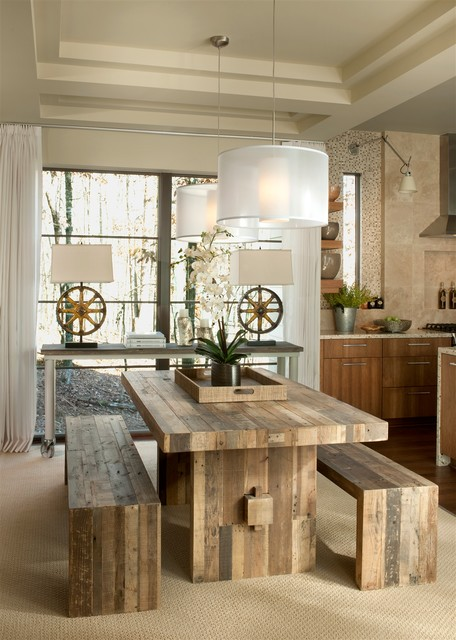 ... Great Dining Room Design Ideas For A Warm Industrial Look ...