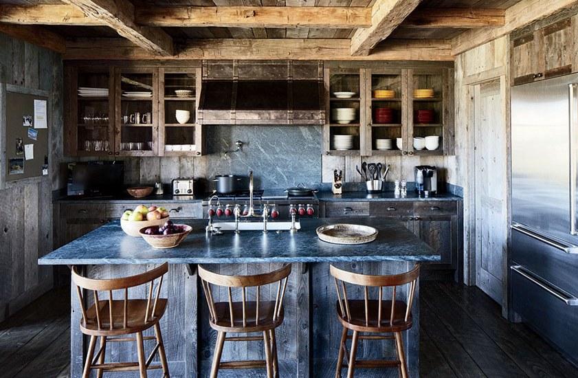 Inspiring Rustic Kitchens Photos