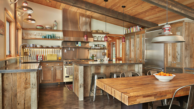 Interesting Rustic Kitchen Designs