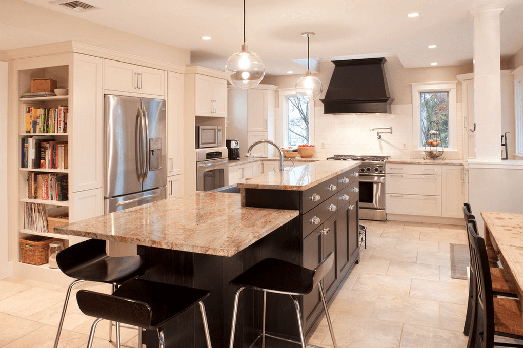 30 attractive kitchen island designs for remodeling your for Kitchen ideas no island