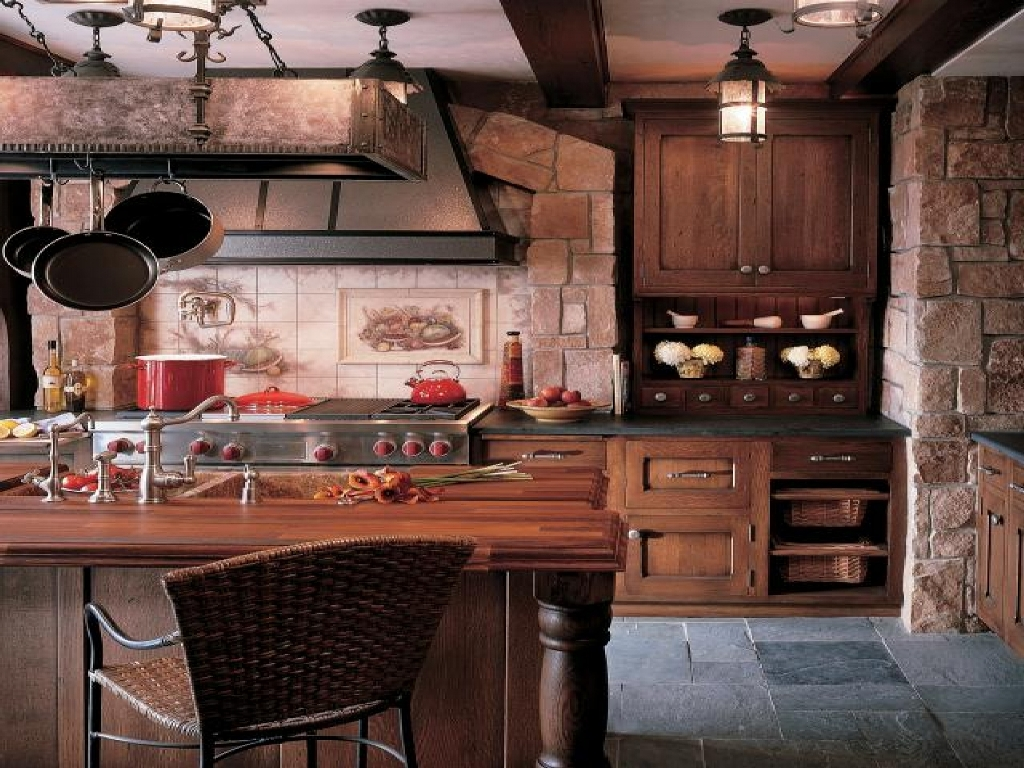 25 ideas to checkout before designing a rustic kitchen for Rustic kitchen designs