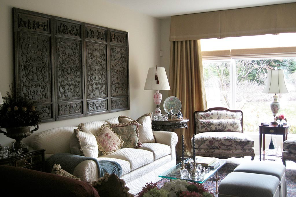 21 home decor ideas for your traditional living room for Livingroom decoration ideas