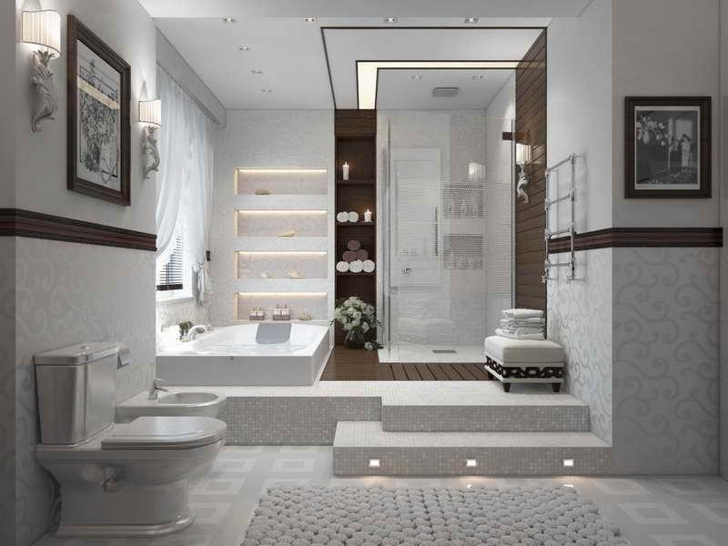 Luxury Bathroom Floor Plans