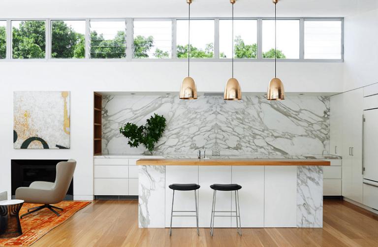 23 Stunning White Luxury Kitchen Designs