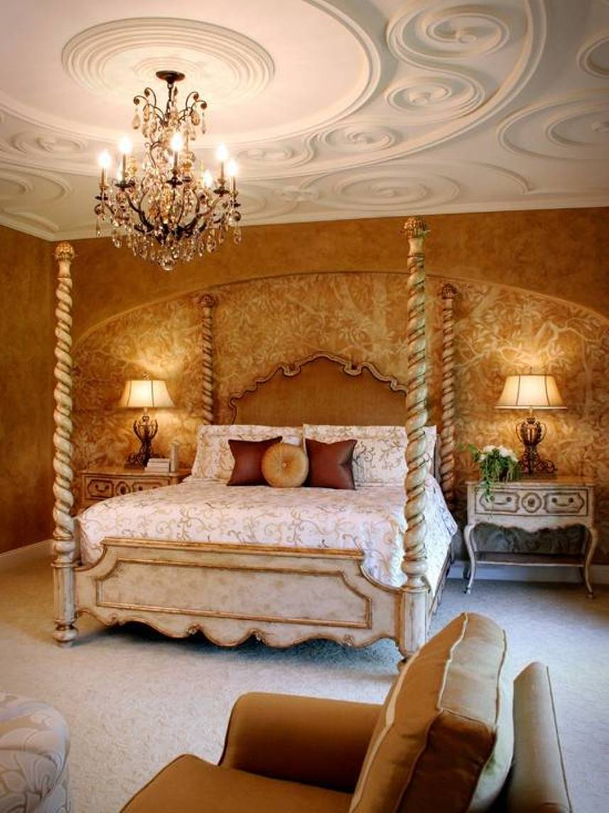 22 mediterranean bedroom designs gives your bedroom a new look Cot design for master bedroom
