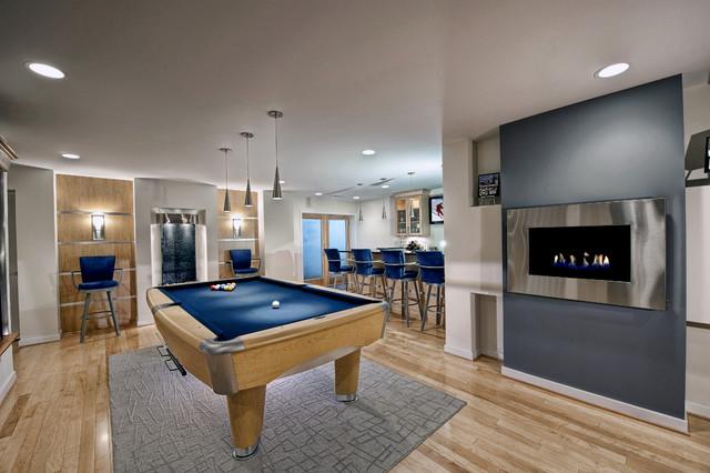 Modern Basement Home Design Photos